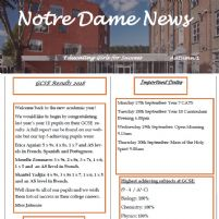 Notre Dame News Issue 6 OUT NOW